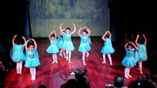 LIBRE SOY. Pelicula Frozen alumnas de Pre-danza.
