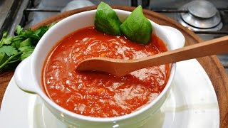 Salsa de tomate para pastas RECETA Exquisita