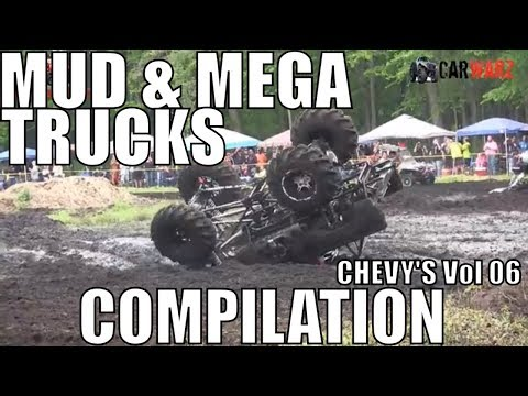 CHEVY MUD AND MEGA TRUCK MUD COMPILATION 2018 VOL 06