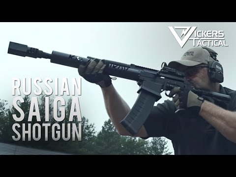 Russian Saiga 12 Modified Shotgun