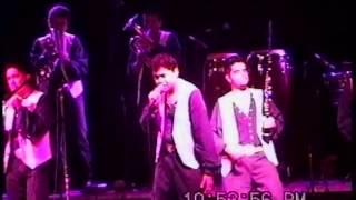 Banda Caña Verde de los años 90, con Chuyin Barajas.