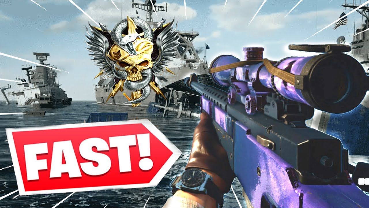 KingSwpr - The #1 FASTEST SNIPING in Black Ops Cold War.. (nuclear)