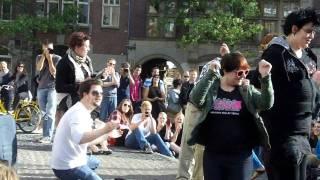 Amanda Palmer Ninja Gig Amsterdam 2011 - Should I Stay or Should I Go cover