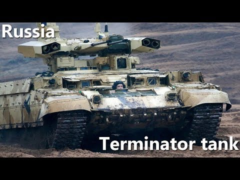 Russia's top brass accepts Terminator tank support combat vehicles for service