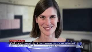 Que hace Roosevelt high school para ayudar a sus estudiantes