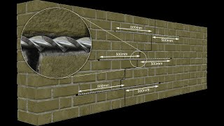 Crack Stitching Masonry Walls