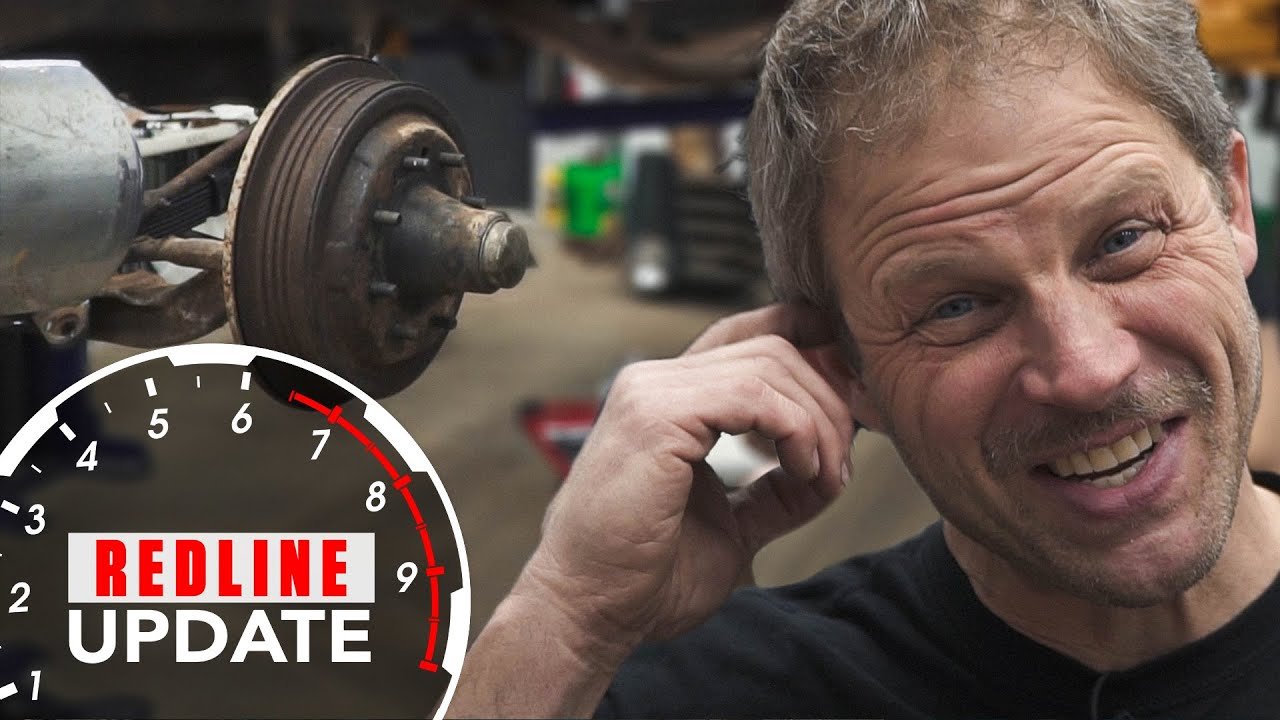 Davin calls in favors to rebuild the Chevy 3600's front suspension