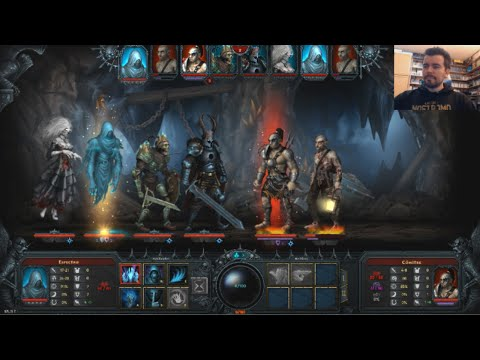 IRATUS: LORD OF THE DEAD (PC) - ¿El sucesor de Darkest Dungeon?    Gameplay en Español