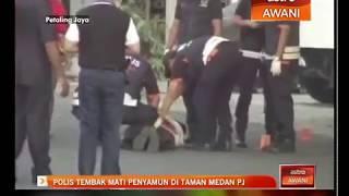 Polis tembak mati penyamun di Taman Medan PJ