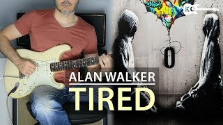 Alan Walker ft. Gavin James - Tired - Electric Guitar Cover by Kfir Ochaion