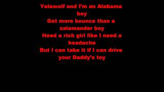 Yelawolf - Daddy's Lambo (LYRICS)