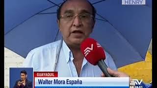 Cuatro casas evacuadas por hundimiento de tierra en Guayaquil