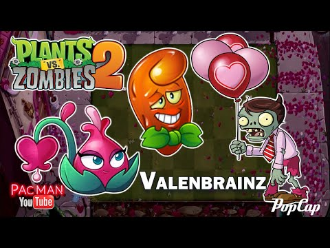 Plants vs Zombies 2 Celebrate Valenbrainz Pinata Party