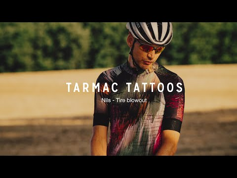 Tarmac Tattoos | Nils - Tire blowout