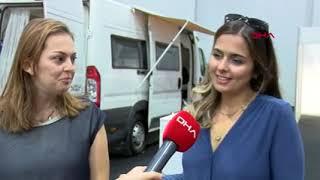 İki kız kardeş yaptıkları karavanla Türkiye'yi gezdi