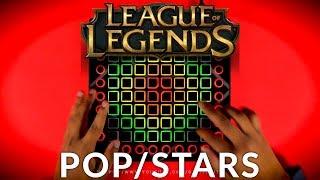 K/DA - POP/STARS (ft Madison Beer, (G)I-DLE, Jaira Burns) // Launchpad Performance