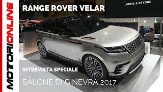 Range Rover Velar, offensiva di stile e design a Ginevra 2017