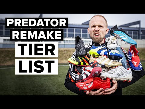 adidas released ANOTHER remake - PREDATOR REMAKE TIER LIST