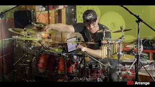 CHRIS BROWN Fine By Me drum cover