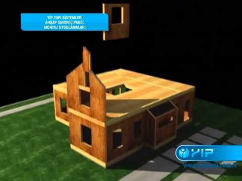 Yip Yapı Sandviç Panel Yapı Üretim Ve Montaj Uygulama