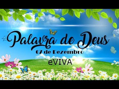 PALAVRA DE DEUS PARA HOJE 07 DE DEZEMBRO eVIVA MENSAGEM MOTIVACIONAL PARA REFLEXÃO DE VIDA