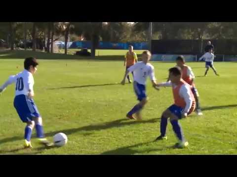 NSCAA/Kwik Goal Training Activity: Defensive Organization Back 4