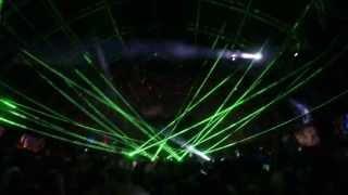 Eric Prydz - Green Velvet/Harvard Bass Lazer Beams with Cirez D - On/Off Live @ Coachella 2013