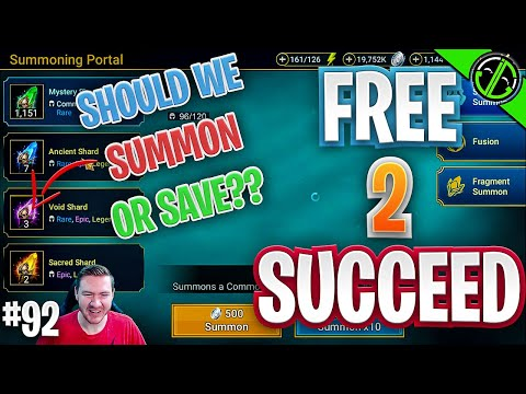 2x Voids Tomorrow!! Should We Summon??? Free 2 Succeed - EPISODE 92
