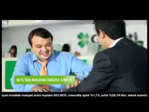 Garanti 80'e 5.000 TL Kredi Reklamı  (Aşk Var Para Yok)