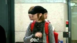 [FANCAM] 110925 Teen Top (Changjo  Niel Focus) @ Incheon Airport