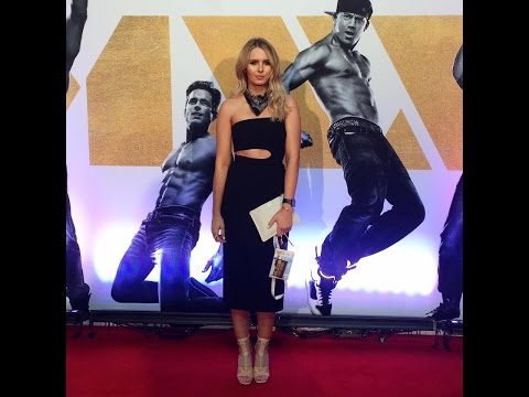 GET READY WITH ME MAGIC MIKE XXL PREMIERE INCLUDING MAKE UP, HAIR AND OUTFIT | Rachael Brook