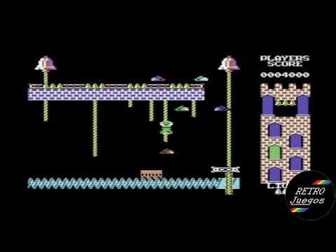 Hunchback 2 (Commodore 64) - Review de RETROJuegos por Fabio Didone