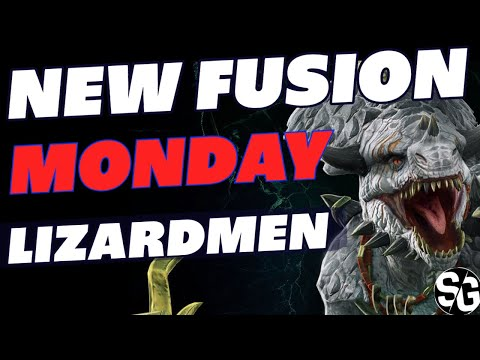 NEW FUSION MONDAY W/ SKILLS | LIZARDMEN FUSION RAID SHADOW LEGENDS