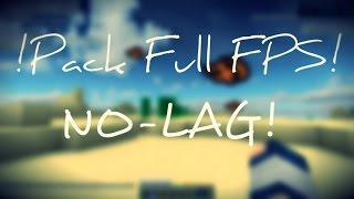 FULL FPS PACK PRIVATE/RELEASE♥ !!FPS BOOST NO-LAG!! MINECUB♥