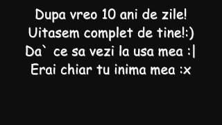 versuri triste by Gabitza