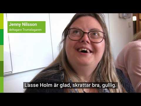 Lasse Holm besöker Trumslagaren