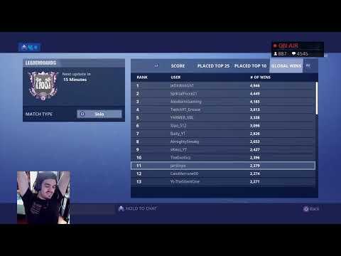 Highest Kill Score In Fortnite