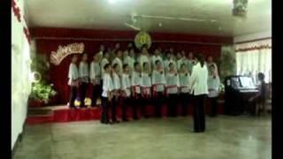 "QGHS CHOIR ""Trend Singers""- Fair Phyllis I Saw(NAMCYA2008-Youth Choir)"