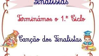 """Terminámos o 1.º Ciclo - Canção dos Finalistas c/ a música """"Postal dos Correios"""""""