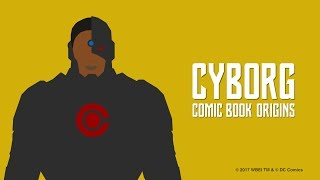 Justice League - Cyborg Comic Book Origins