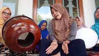 Latihan hadroh rebana muslimah Alhidayah(4)