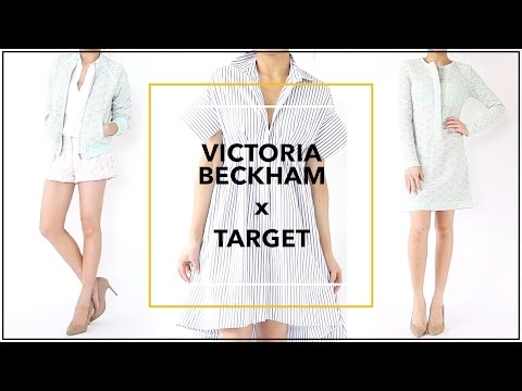 Victoria Beckham for TARGET Try On Haul + GIVEAWAY | Clothing Review | Miss Louie