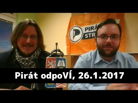 Pirát odpoVÍ, 26.1.2017