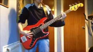 Twisted Sister - I Wanna Rock - Bass cover
