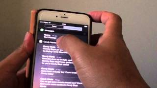 iPhone 6 Plus: How to Enable / Disable Text Message Preview in Notification