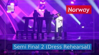 Norway Eurovision 2017 - Grab The Moment (Semi Final 2 Dress Rehearsal, Live in 4K)