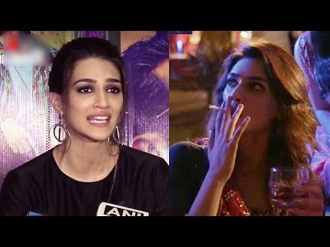Kriti Sanon Shares Her Experience Of SMOKING Cigarette For The First Time