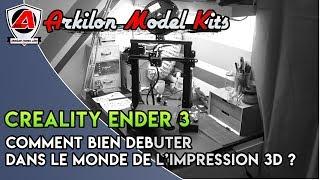 Creality Ender 3 : Comment bien démarrer dans le monde de l'impression 3D ?