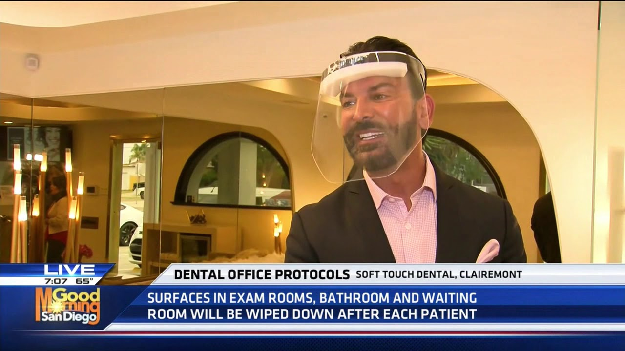 Dental Office Protocol - Soft Touch Dental - KUSI TV Part 1