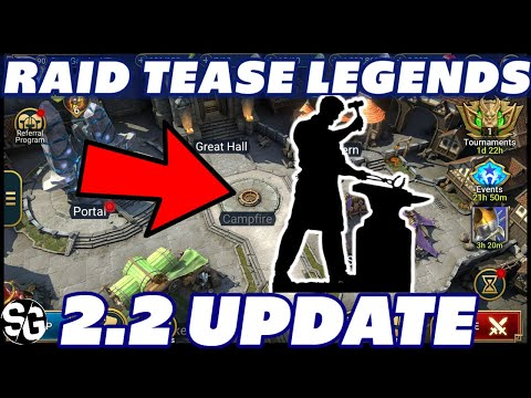 WEAPON FORGE 2.2 TEASER RAID SHADOW LEGENDS 2.2 ARTIFACT CRAFTING